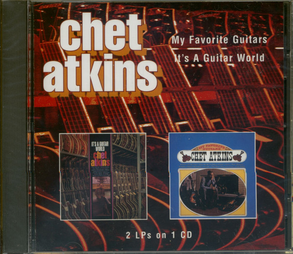 My Favorite Guitar - It's A Guitar World (CD)