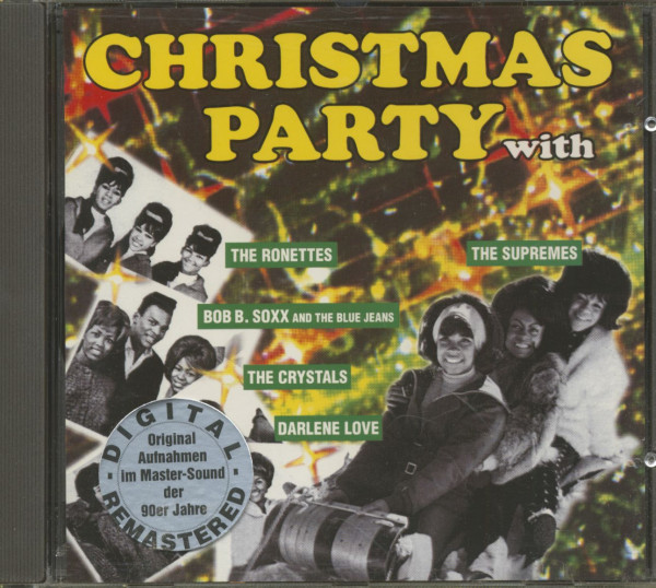 Christmas Party (With Phil Spector) (CD)