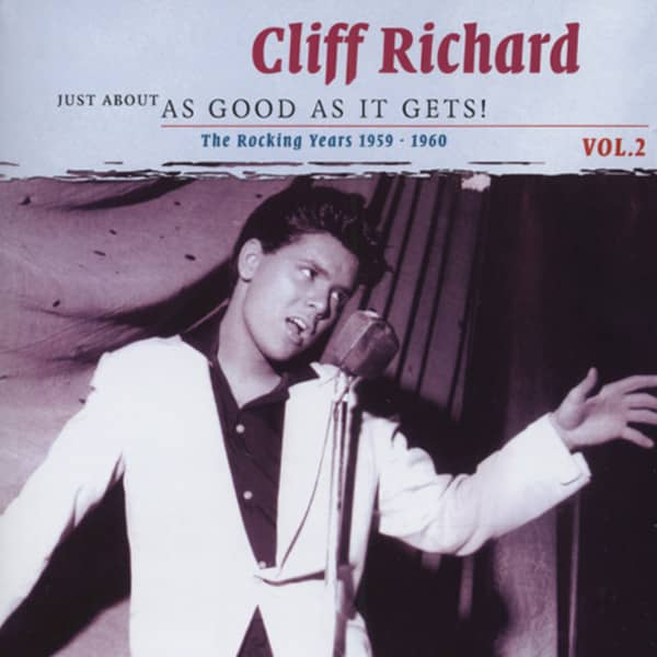 Richard, Cliff 1959-1960 (2-CD) Just About As Good Vol.2