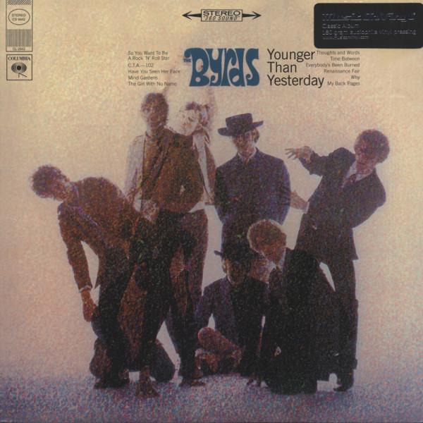 Byrds Younger Than Yesterday (1967) 180g Vinyl