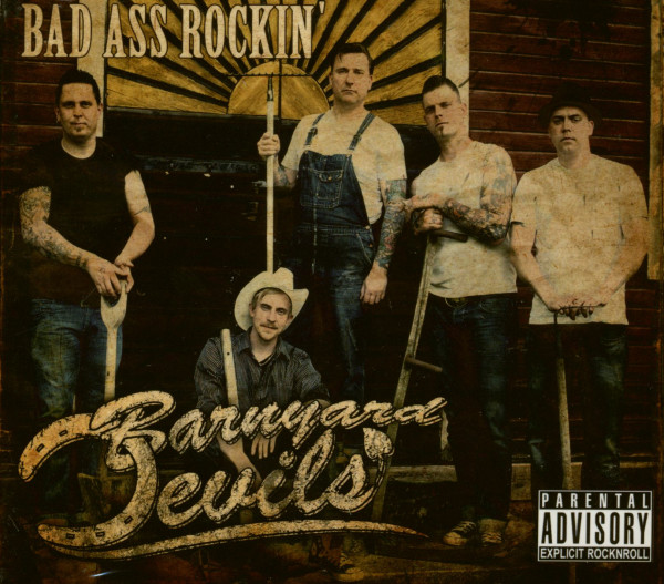 Bad Ass Rockin' (CD)