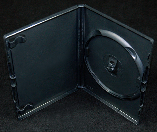 DVD case - black