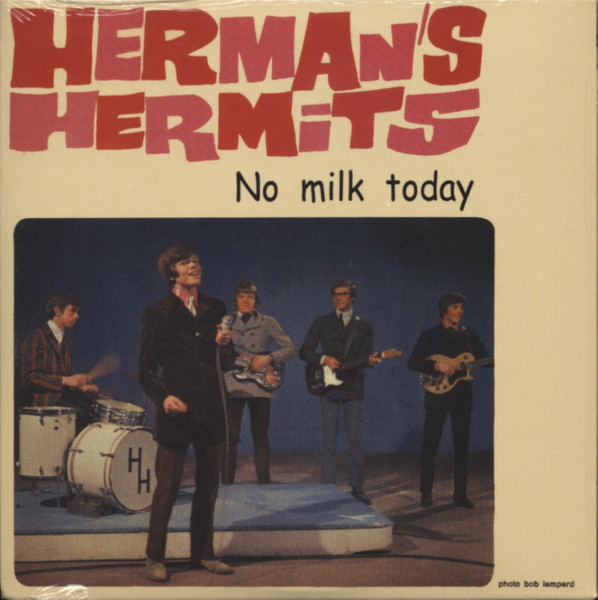 Herman's Hermits No Milk Today ... plus - Papersleeve