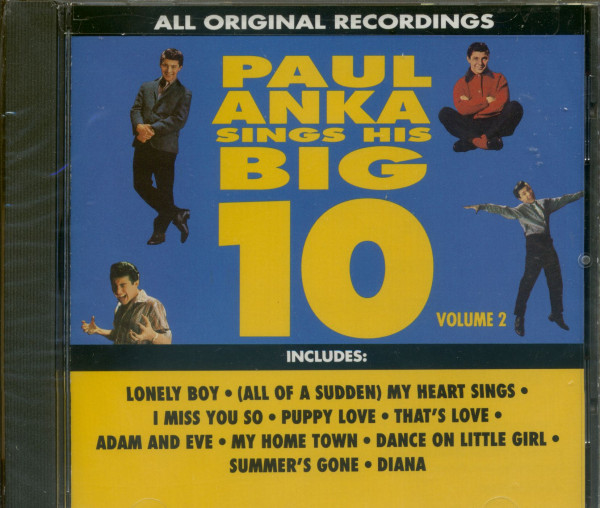 Sings His Big 10 Vol.2 (CD)