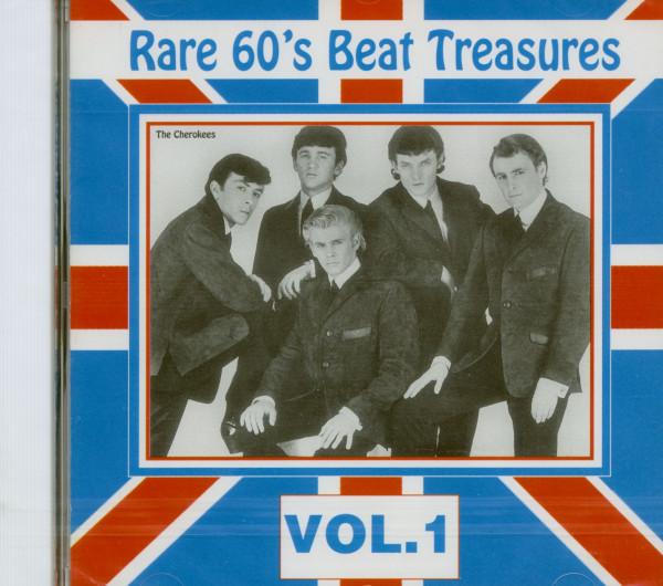 Rare 60s Beat Treasures, Vol.1 (CD)