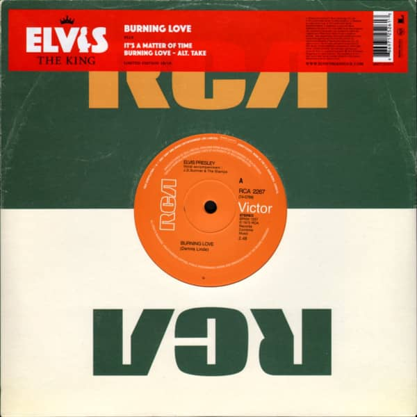 Elvis The King - 18 Of The Greatest Singles Ever Vol.18 (10inch EP, 45rpm, Ltd.)