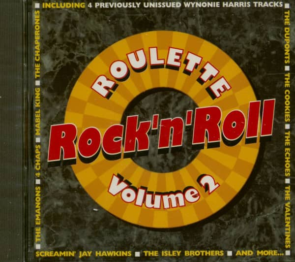 Roulette Rock & Roll Collection Vol.2 (CD)
