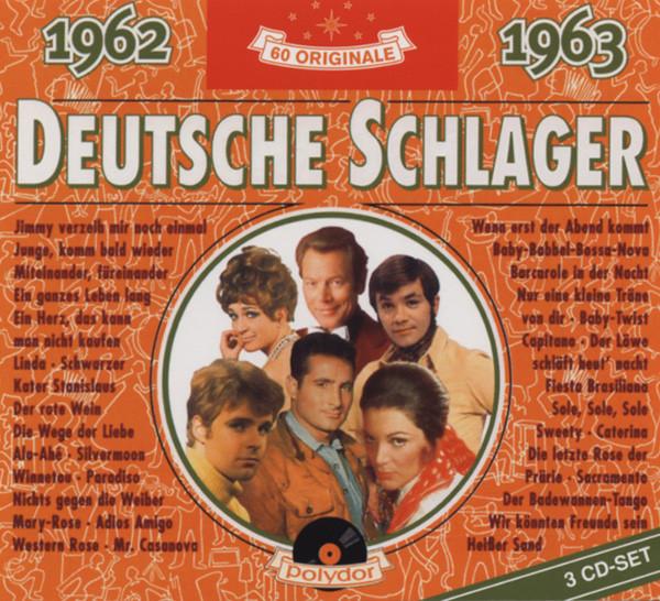 Deutsche Schlager 1962-1963 3-CD