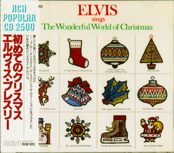 The Wonderful World Of Christmas (CD, Japan Edition)