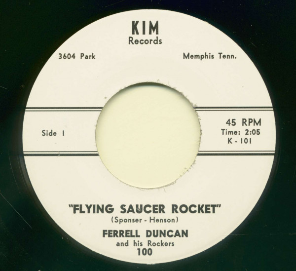Flying Saucer Rocket - Little Suzie (7inch, 45rpm)
