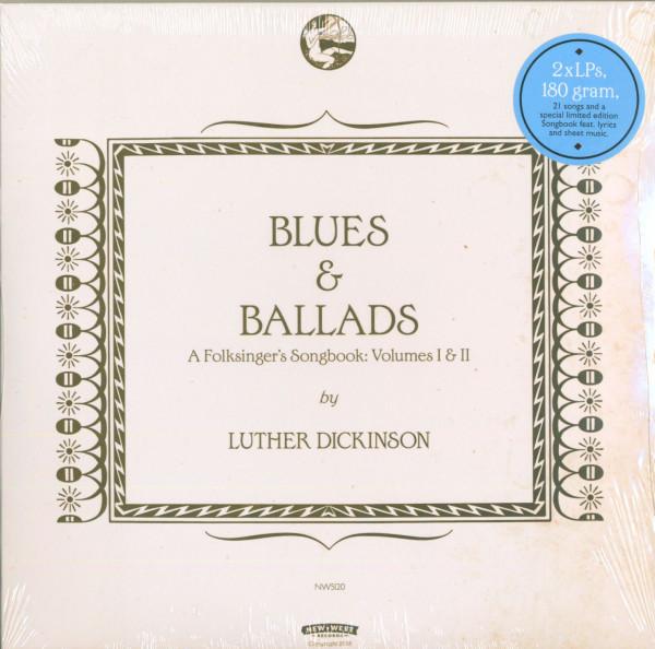 Blues & Ballads (A Folksinger's Songbook) I & II (2-LP, 180g Vinyl, Ltd.)