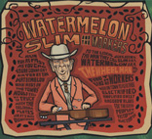 Watermelon Slim Wheel Man