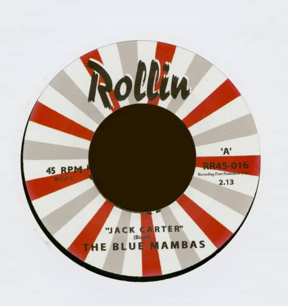 Jack Carter - On The Road Again (7inch, 45rpm)