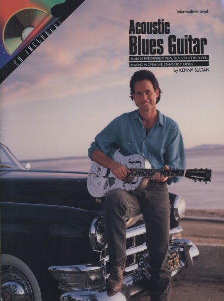 Sultan, Kenny Acoustic Blues Guitar (Book & CD)