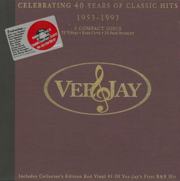 Va Vee Jay - 40 Years Of Classic Hits (3-CD)