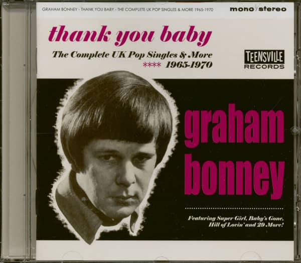 Thank You Baby - The Complete UK Pop Singles & More 1965-1970 (CD)