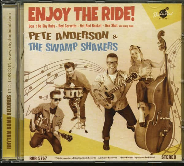 Enjoy The Ride - Pete Anderson & The Swamp Shakers (CD)