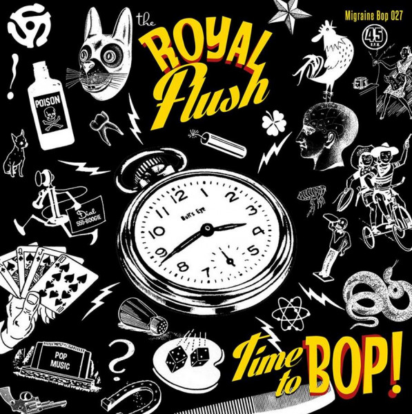 Time To Bop! (7inch, 45rpm, PS, Ltd.)