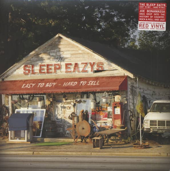 Easy To Buy - Hard To Sell (LP, 180g Red Vinyl & Download, Ltd.)