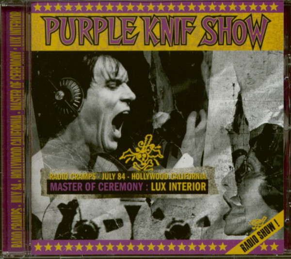 Radio Cramps - The Purple Knif Show (CD)