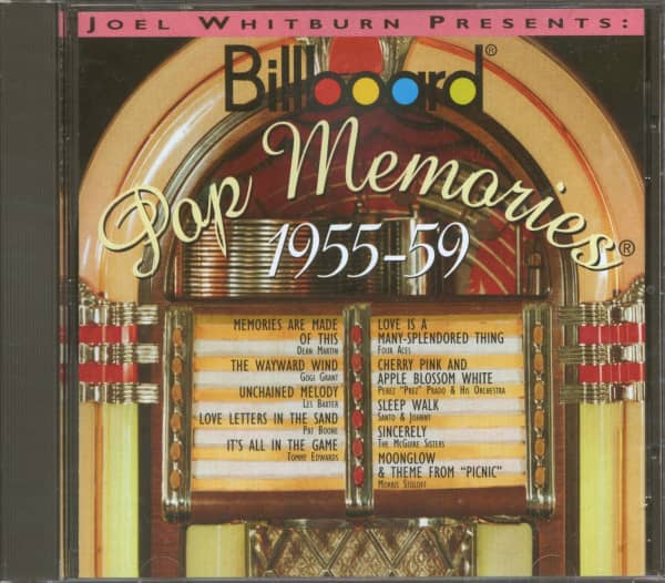 Billboard Pop Memories - 1955-1959 (CD)