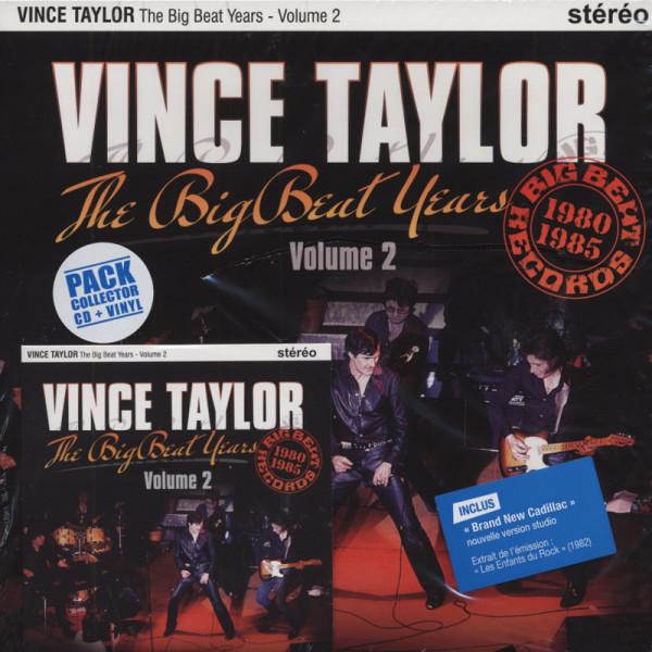 Taylor, Vince Vol.2, The Big Beat Years (25cmLP&CD) Ltd.