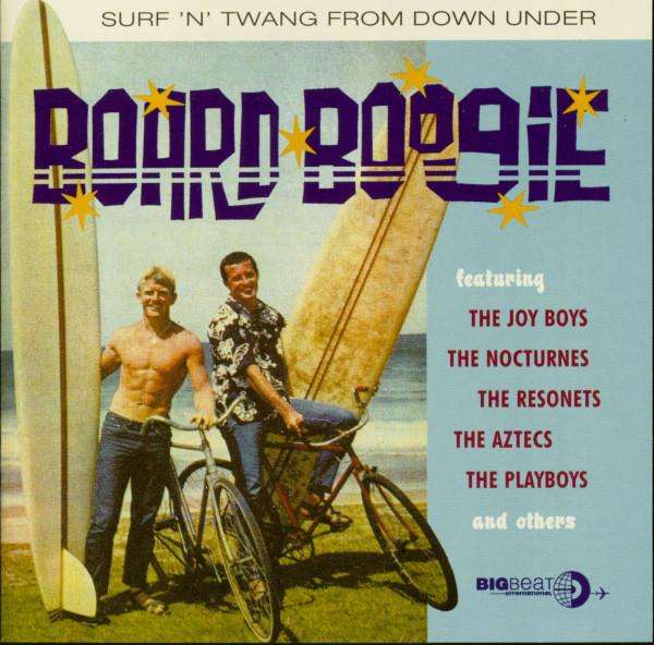 Board Boogie - Surf'n'Twang From Down Under (CD)
