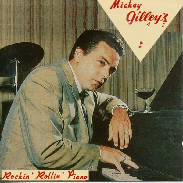 Gilley, Mickey Rockin' Rollin' Piano (CD)