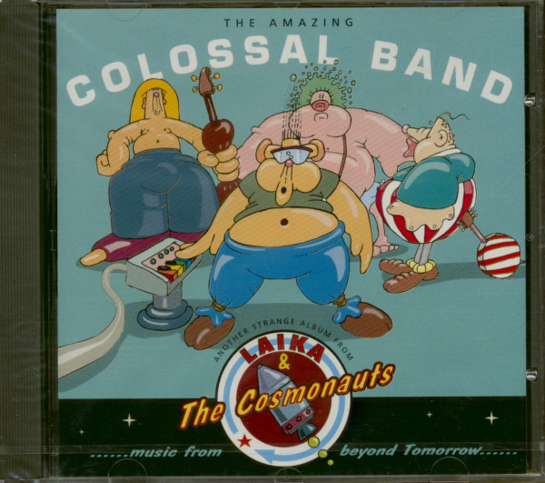 The Amazing Colossal Band (CD)