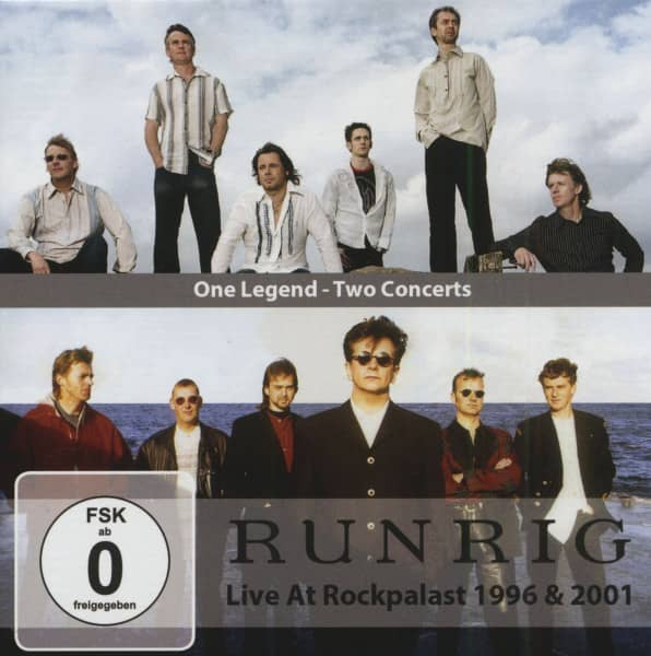 One Legens - Two Concerts - Live At Rockpalast 1996 & 2001 (4-CD & 2-DVD)