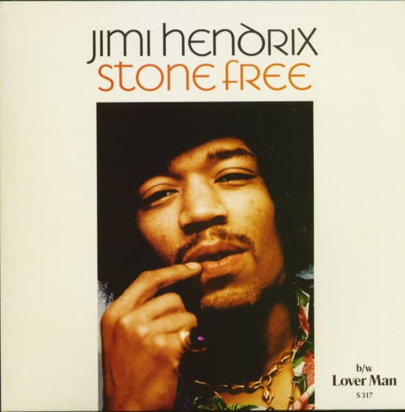 Stone Free - Lover Man (7inch Single, 45rpm, PS, BC)