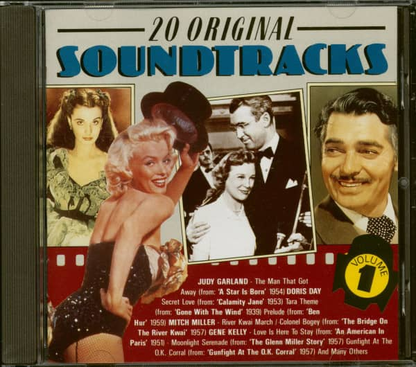 20 Original Soundtracks - Vol. 1 (CD)