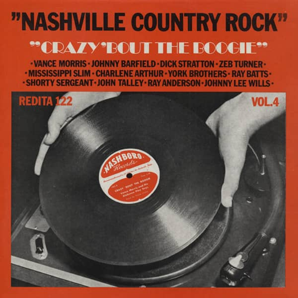 Vol.4, Nashville Country Rock