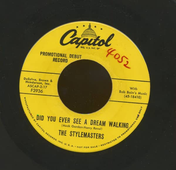 Did You Ever See A Dream Walking - In The Chapel (7inch, 45rpm)
