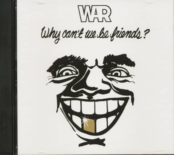 Why Can't We Be Friends? (CD)