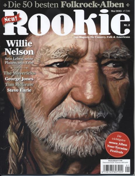 Rookie #2 - Magazin für Country, Folk & Americana (&CD) #2 Mai 2013
