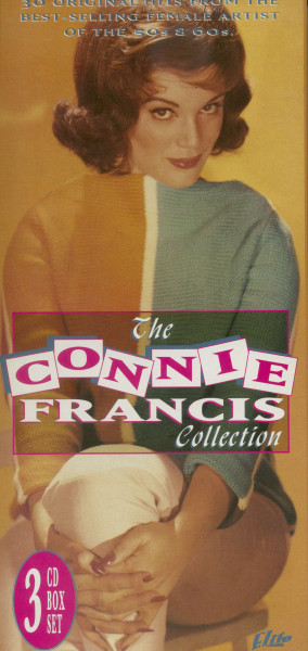 The Connie Francis Collection (3-CD, Canada)