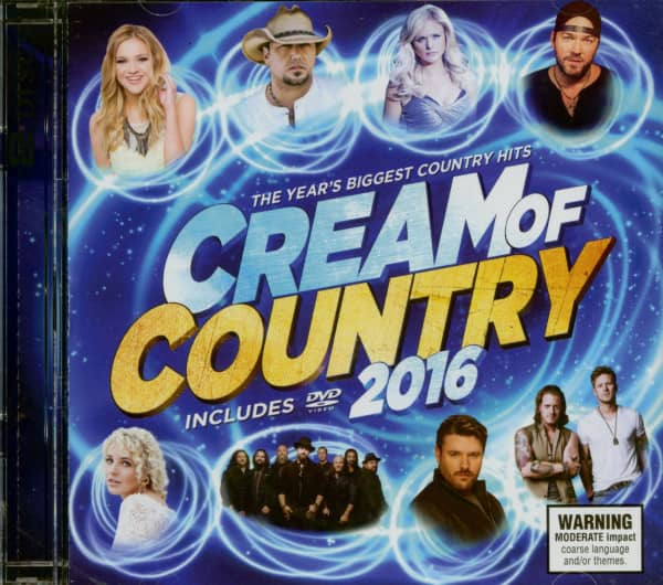 Cream Of Country 2016 (CD & DVD)
