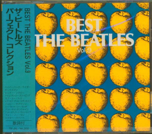 Best - The Beatles, Vol.9 (CD, Japan)