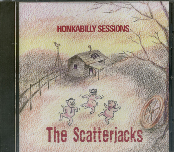 Honkabilly Sessions (CD)
