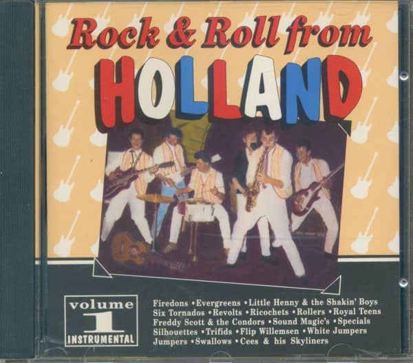 Rock & Roll From Holland, Vol.1 (CD)