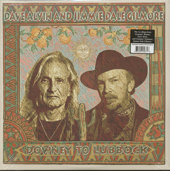 Dave Alvin And Jimmie Dale Gilmore - Downey To Lubbock (2-LP)