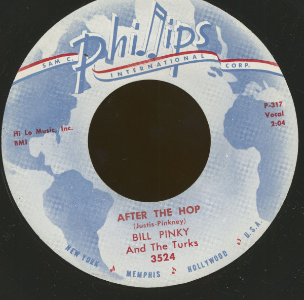 After The Hop - Sally's Got A Sister (7inch, 45rpm)