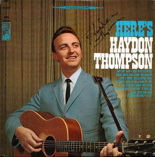 Here's Hayden Thompson (LP)