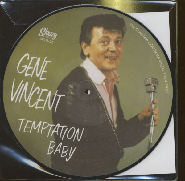 Temptation Baby - The Complete Columbia Singles (LP, 10inch, Picture Disc)