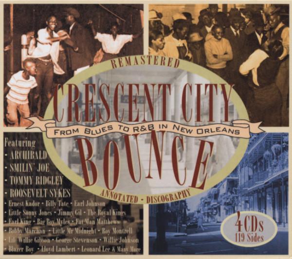 Va Crescent City Bounce (4-CD Box)