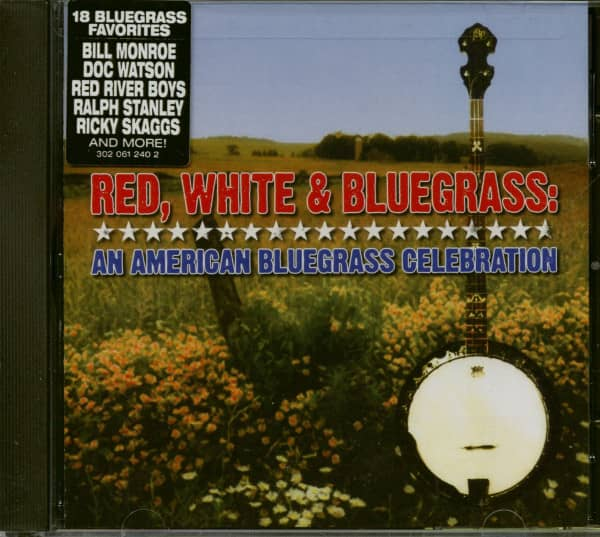 Red, White & Bluegrass - An American Bluegrass Celebration (CD)