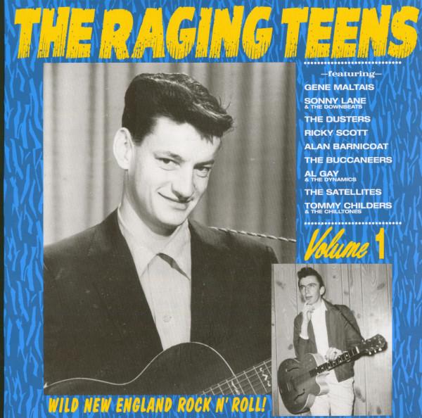 Raging Teens Vol.1 - Wild New England Rock'n'Roll (LP)