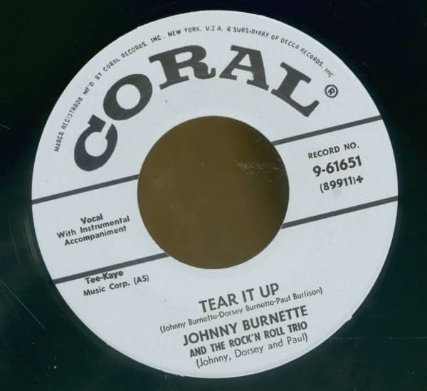 Tear It Up - Oh Baby Babe (7inch, 45rpm)