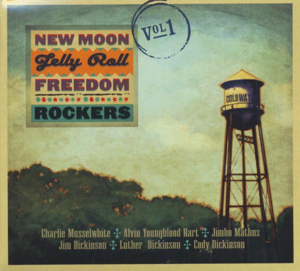 New Moon Jelly Roll Freedom Rockers Vol.1 (CD)